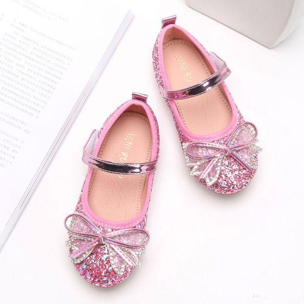 /中大童/金蔥blingbling娃娃鞋-粉色 金蔥娃娃鞋,女童娃娃鞋,亮晶晶