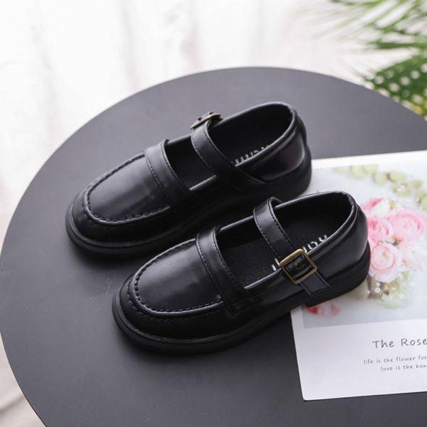輕量防滑學生鞋制服鞋-黑色