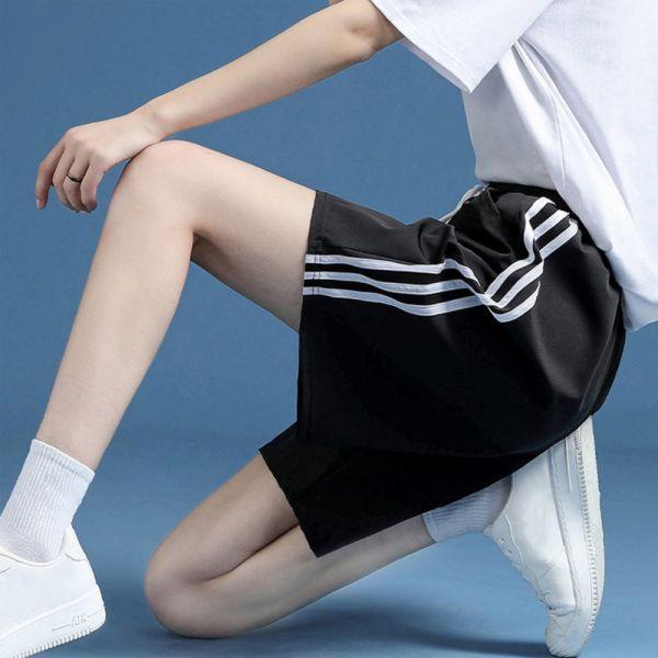 /大人/五分寬鬆運動褲-共四色
