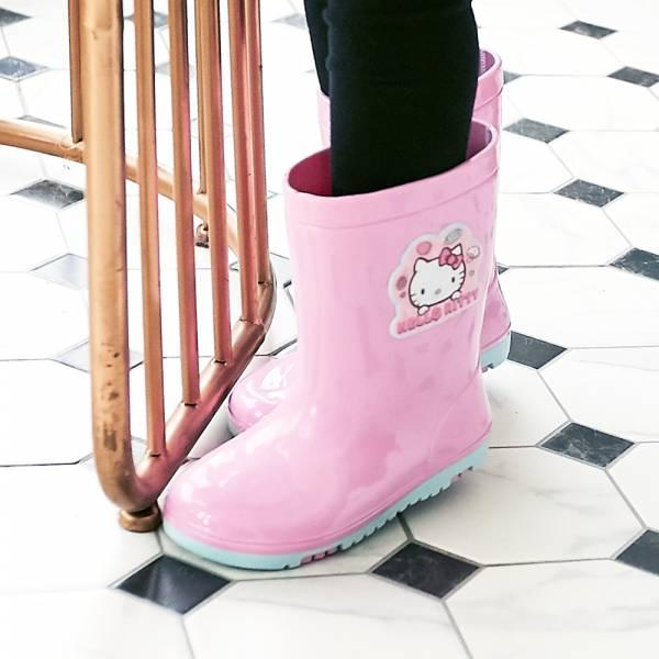 現貨 台灣製HELLOKITTY女童雨鞋雨靴-粉色 HELLOKITTY,女童雨鞋,台灣製雨鞋