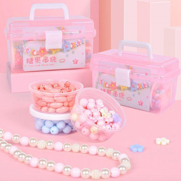 糖果串珠 兒童玩具DIY-共四款