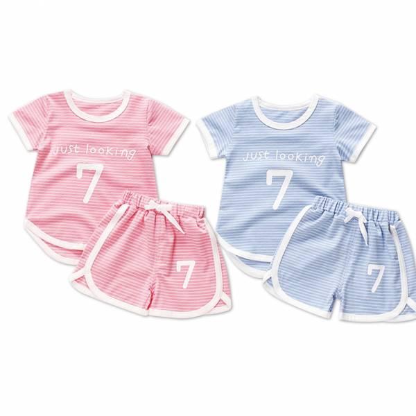 現貨 兒童休閒套裝 居家服套裝-共兩色 現貨,兒童休閒套裝,居家服套裝