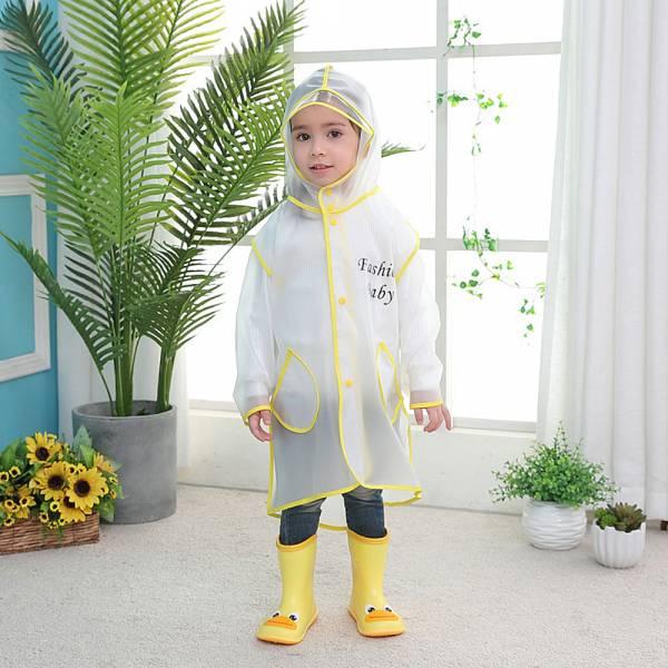 EVA面料兒童雨衣 男童雨衣 女童雨衣-共四色