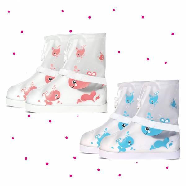 現貨 雨天救星 印花兒童防水雨鞋套-共兩色 雨天救星,兒童防水雨鞋套