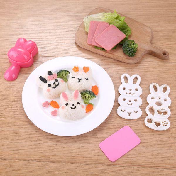 現貨 小兔子飯糰模具組 小兔子飯糰模具組,DIY飯糰
