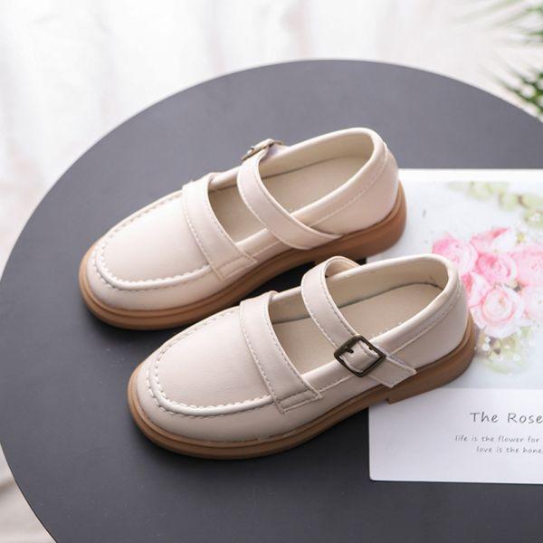 輕量防滑學生鞋制服鞋-白色