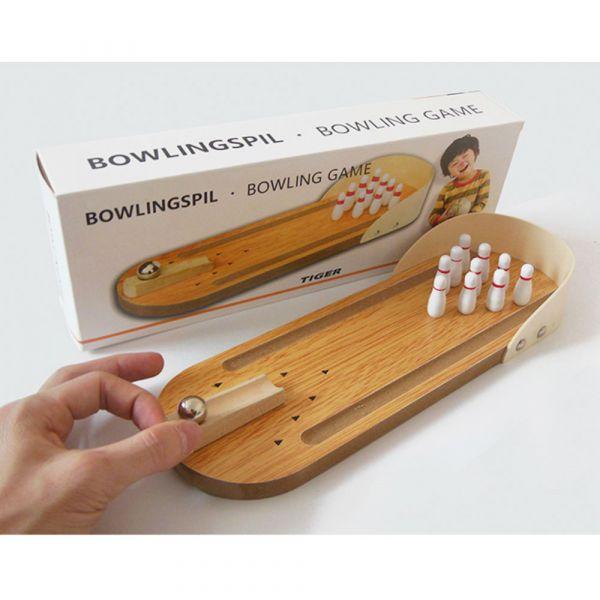 迷你保齡球 木質桌面遊戲