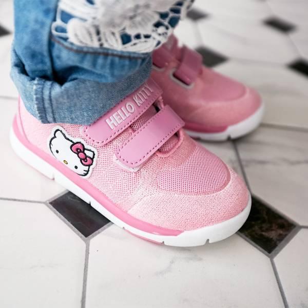 現貨 HELLOKITTY女童透氣運動鞋-粉色 HELLOKITTY,透氣運動鞋,女童運動鞋