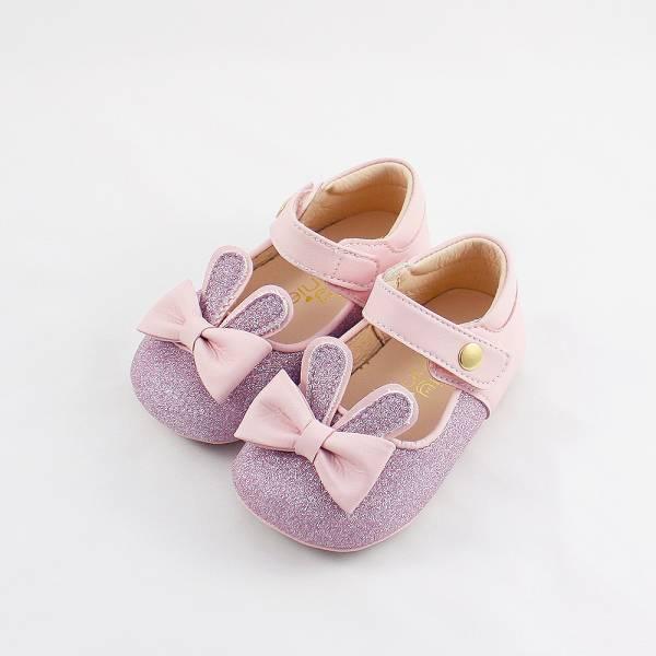 現貨 台灣製兔子跳跳寳寳鞋娃娃鞋-粉色 現貨,台灣製,寳寳鞋,娃娃鞋,學步鞋