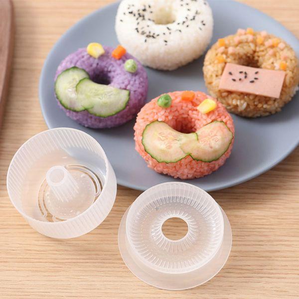 甜甜圈造型 DIY飯糰模型