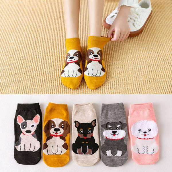 /大人/童趣動物直版帆船襪-共兩款