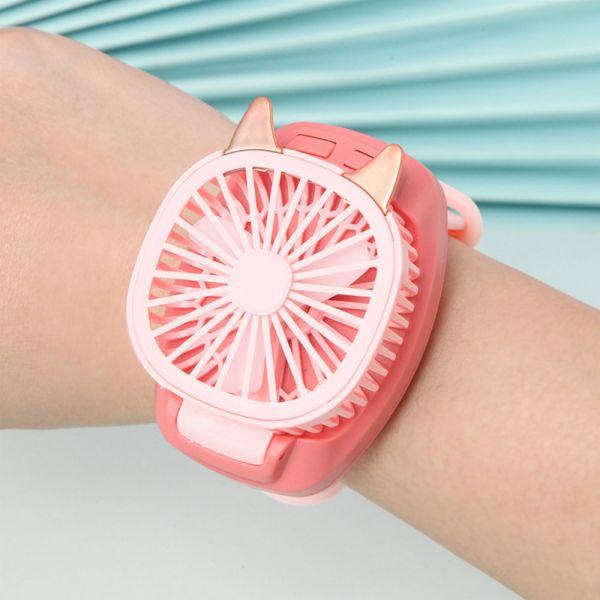 可調節兒童手錶充電風扇 方便攜帶-共四色