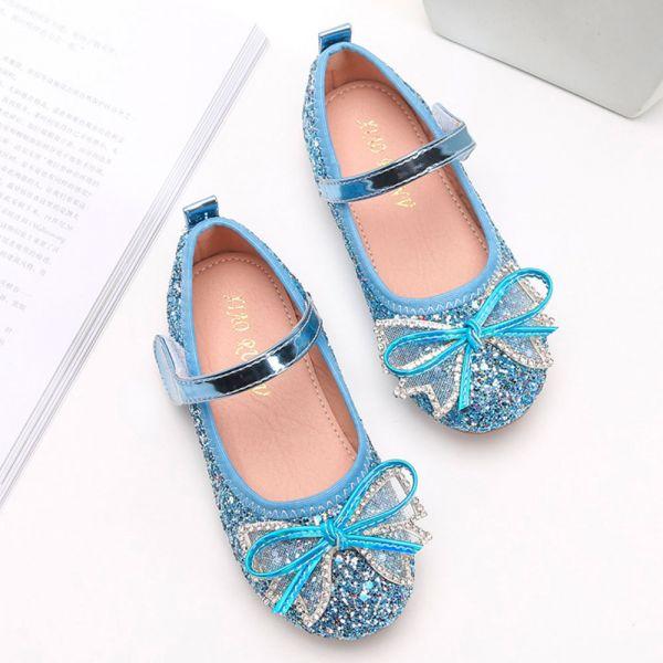 /中大童/金蔥blingbling娃娃鞋-藍色 金蔥娃娃鞋,女童娃娃鞋,亮晶晶