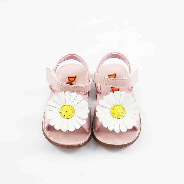 現貨 小花朵透氣寶寶涼鞋-粉色 現貨,寶寶涼鞋,透氣寶寶涼鞋,透氣