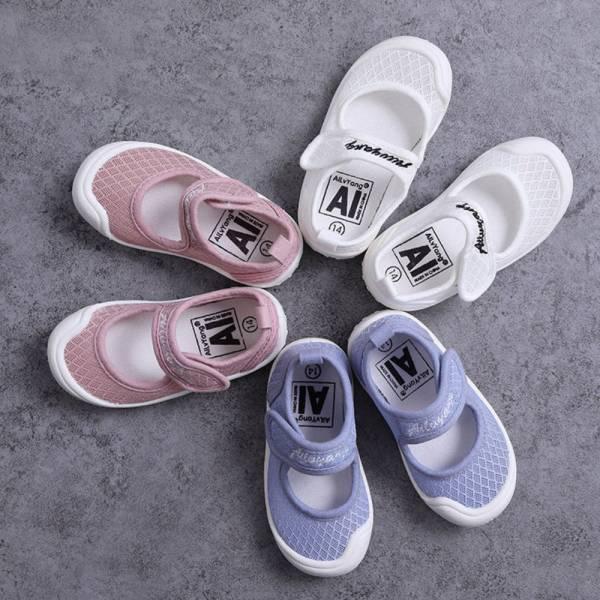 簍空透氣 幼稚園室內鞋休閒鞋-共三色