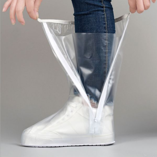 /大人/雨天救星 防濕防水高筒雨鞋套-共一色