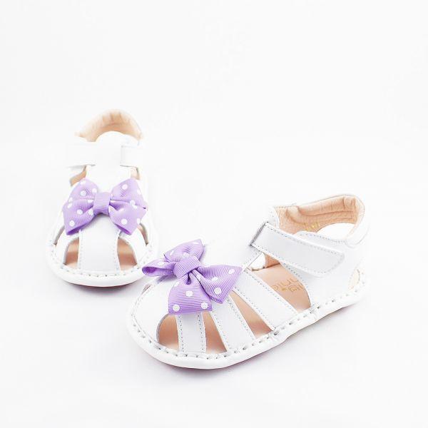 現貨 蝴蝶飛飛寳寳涼鞋-紫色 寳寳涼鞋,寶寶學步鞋,學步涼鞋