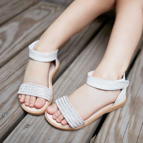 現貨 台灣製鑽石糖真皮兒童涼鞋-粉色 女童真皮涼鞋,台灣製童鞋,台灣製涼鞋,女童涼鞋,真皮涼鞋