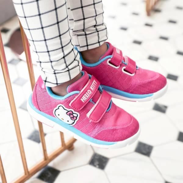 現貨 HELLOKITTY女童透氣運動鞋-桃紅 HELLOKITTY,透氣運動鞋,女童運動鞋