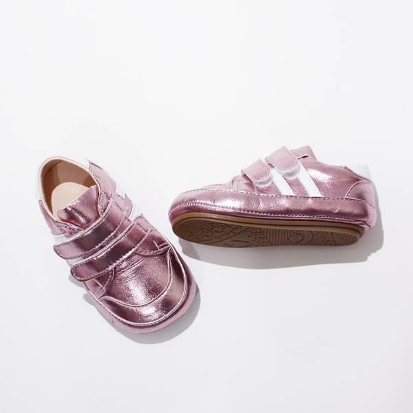 現貨 台灣製休閒運動風寶寶鞋學步鞋-閃亮桃紅 現貨,台灣製,休閒運動風,寶寶鞋,學步鞋