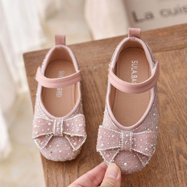 /大童/blingbling水鑽娃娃鞋-粉色