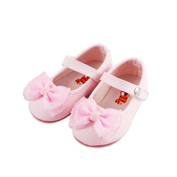 現貨 台灣製小花童蝴蝶結娃娃鞋寶寶鞋 音樂表演 萬聖節-粉色 台灣製,小花童,蝴蝶結娃娃鞋,寶寶鞋,音樂表演,萬聖節