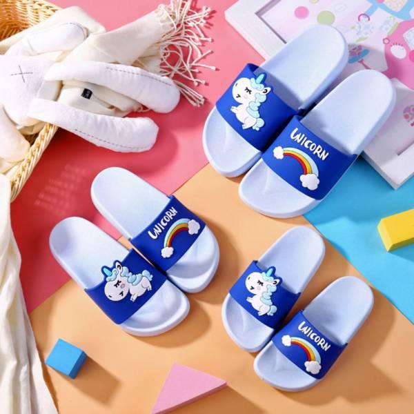 彩虹小馬親子拖鞋 浴室防滑拖鞋-淺藍 彩虹小馬,親子拖鞋,浴室防滑拖鞋