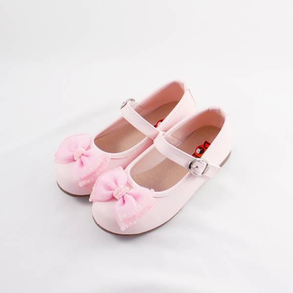 現貨 小花童蝴蝶結娃娃鞋 畢業典禮 音樂會表演 萬聖節-粉色