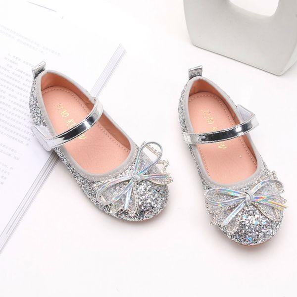 /中大童/金蔥blingbling娃娃鞋-銀色 金蔥娃娃鞋,女童娃娃鞋,亮晶晶