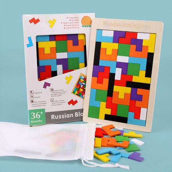 益智玩具 俄羅斯方塊積木拼圖