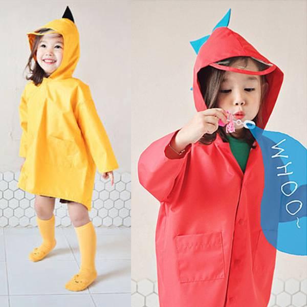 現貨 恐龍造型兒童雨衣-共兩色