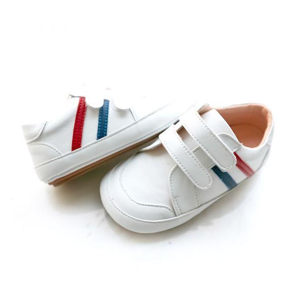 現貨 台灣製休閒運動風寶寶鞋學步鞋-白色 現貨,台灣製,休閒運動風,寶寶鞋,學步鞋