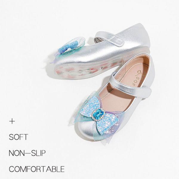 /中大童/蝴蝶結寶石娃娃鞋-藍色 大童娃娃鞋,蝴蝶結娃娃鞋,寶石娃娃鞋,女童娃娃鞋,女童公主鞋,艾莎娃娃鞋
