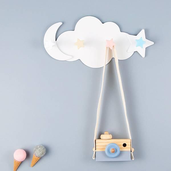 現貨 星星月亮雲朵造型 無痕掛勾 免打孔掛鉤 星星月亮雲朵造型,無痕掛勾,免打孔掛鉤