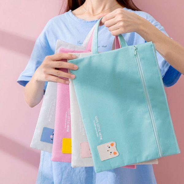 /上學好物/A4文具袋ipad手提袋 補習袋-共四色