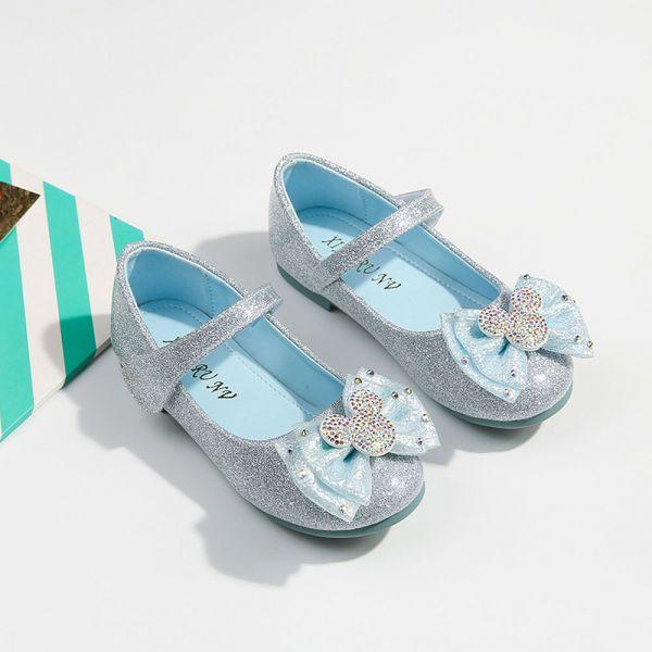 /中大童/蝴蝶結金蔥娃娃鞋-共一色 女童娃娃鞋,艾莎公主鞋,金蔥娃娃鞋,女童公主鞋