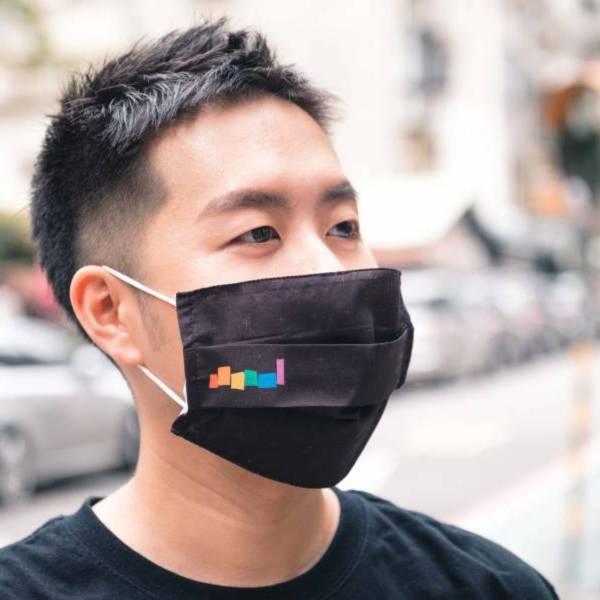 彩虹來罩你 口罩套 口罩套,防疫,彩虹,平權,同志,台灣,Taiwancanhelp