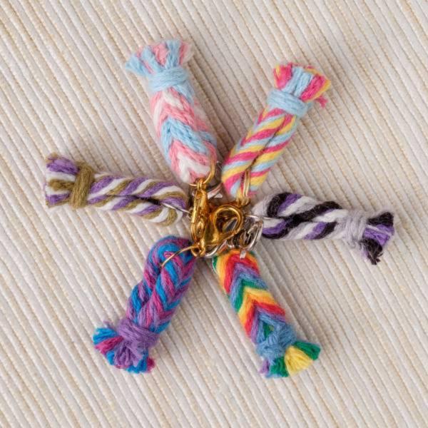 梅有綺飾 性別多元編織吊飾 同志、多元性別、彩虹旗、歧視、LGBTQ、編織、飾品、多元性別、酷兒