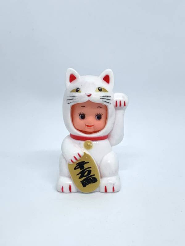 Obitsu招財貓Q比