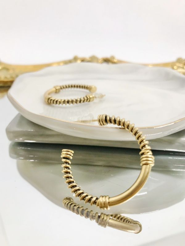 埃及圓圈耳環