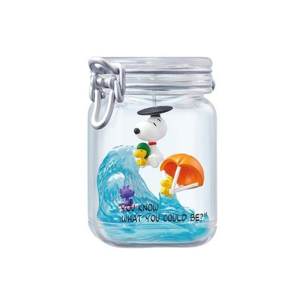 史努比瓶中造景愛的話語 史努比瓶中造景愛的話語盒玩