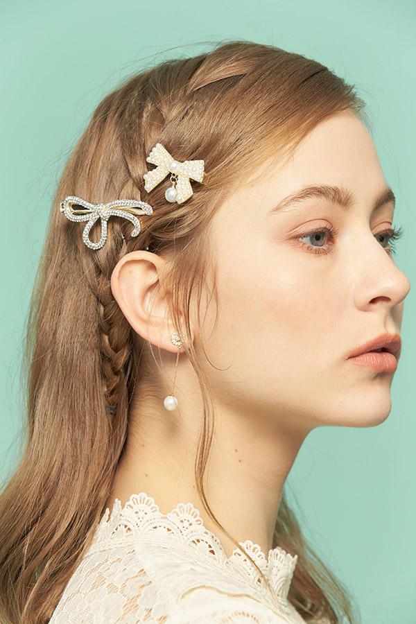 小太陽珍珠耳環