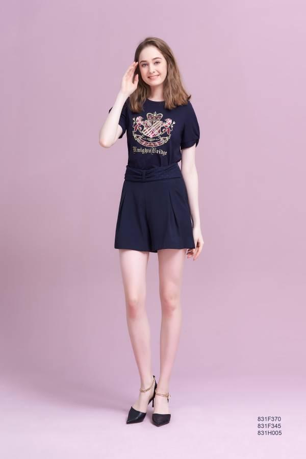蝴蝶結裝飾褲裙