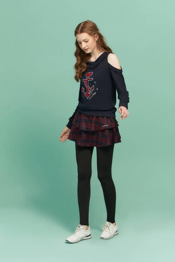 假二件格子裙內搭褲 內搭褲,假二件內搭褲,格子裙,格子裙內搭褲