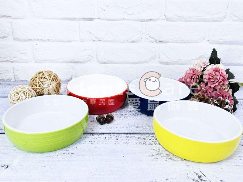 飛寶 防滑陶瓷食盤 藍/綠/紅/黃