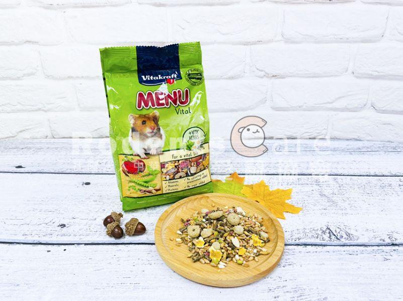 Vitakraft MENU天然食譜 倉鼠主食400g