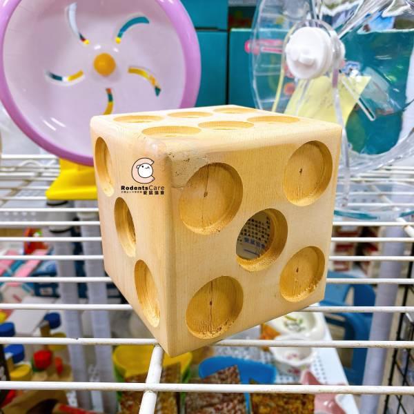Carany 天然原木趣味十八豆 木製玩具 Carany 天然原木趣味十八豆 倉鼠玩具 木製玩具 骰子