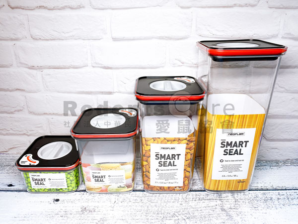 NEOFLAM smart seal 聰明封儲物罐 TRITAN 密封罐 NEOFLAM smart seal 聰明封儲物罐 TRITAN 密封罐