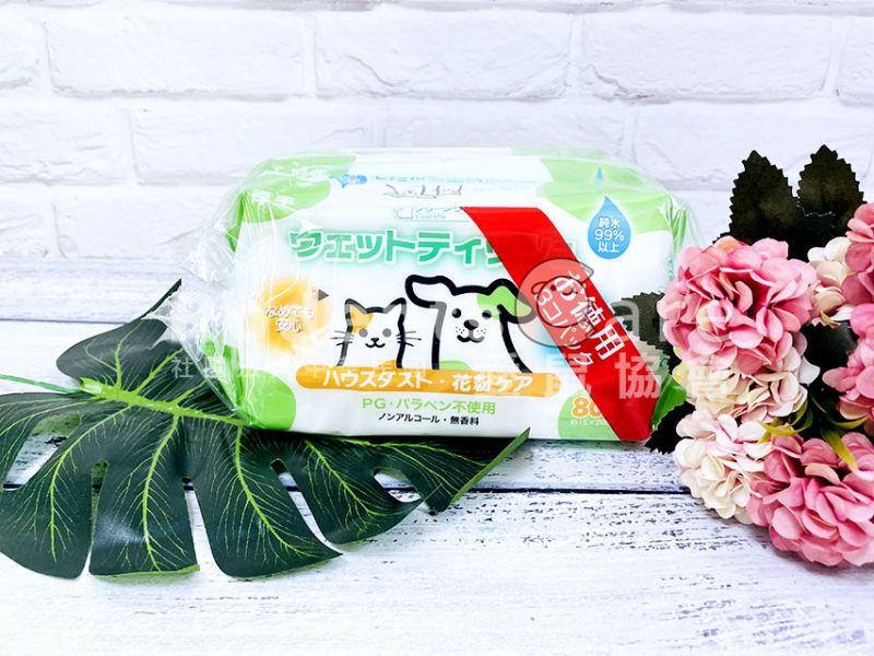 Clean One 日本製保濕除菌寵物濕紙巾 無酒精成分 除菌消臭 寵物濕紙巾