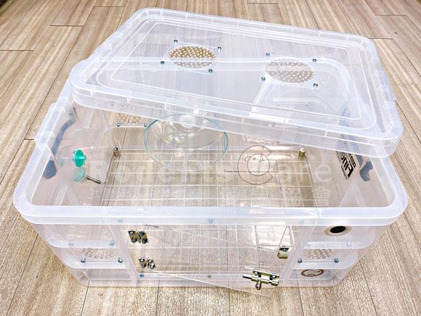 K036 改造整理箱 全壓克力網 套組 K036 改造整理箱 全壓克力網 改造箱 鼠籠